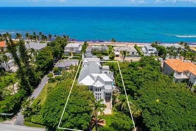 Ocean Ridge Single Family Home For Sale: 6115 Ocean Boulevard