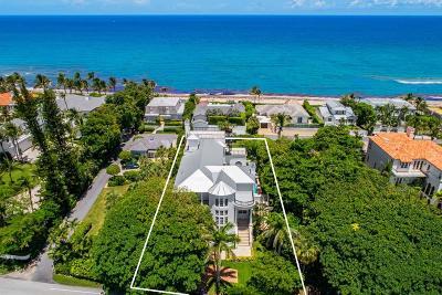 Gulf Stream, Ocean Ridge Single Family Home For Sale: 6115 Ocean Boulevard