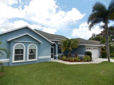 Port Saint Lucie Single Family Home For Sale: 2334 SW Vardon Street