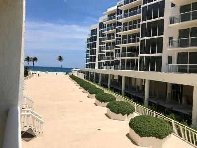 Palm Beach Rental For Rent: 3570 S Ocean Boulevard #310