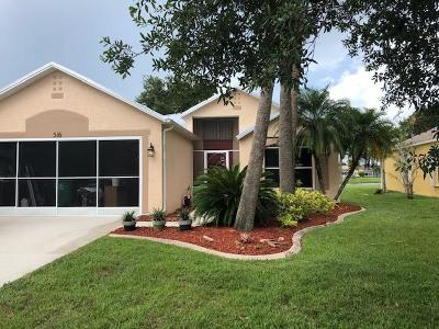 Port Saint Lucie Single Family Home For Sale: 516 SW Deer Run