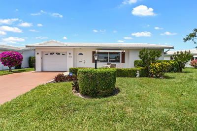 Boynton Beach Single Family Home For Sale: 1203 SW 20th Avenue