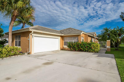 Boynton Beach Single Family Home For Sale: 6193 Lansdowne Circle