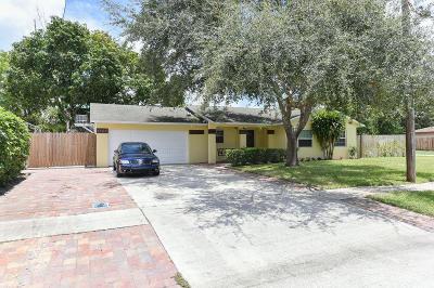 West Palm Beach Single Family Home For Sale: 6305 Saxon Boulevard