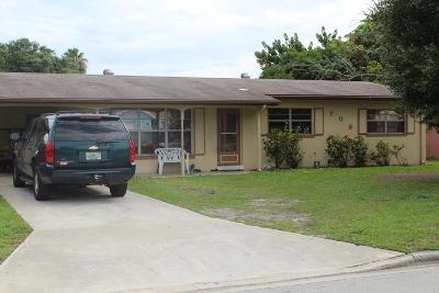 Fort Pierce Single Family Home For Sale: 706 Emil Avenue