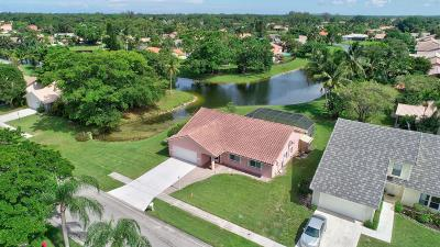 Boca Raton Single Family Home For Sale: 21237 Hazelwood Lane