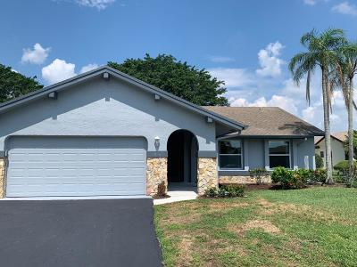 Boca Raton FL Single Family Home For Sale: $277,000