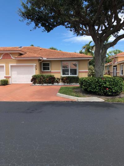 Boynton Beach Single Family Home For Sale: 12610 #d Crystal Pointe Drive