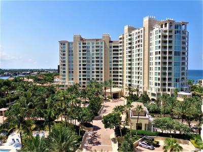 Highland Beach Condo For Sale: 3700 S Ocean Boulevard #504