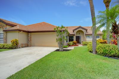 Boynton Beach Single Family Home For Sale: 8195 Cassia Drive