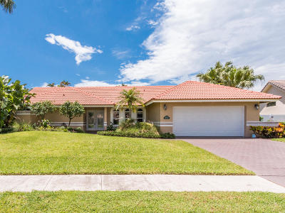 Boca Raton Single Family Home For Sale: 22473 Ensenada Way