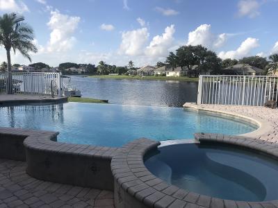 Lake Worth, Lakeworth Single Family Home For Sale: 7499 Prescott Lane