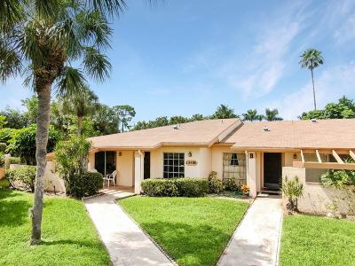Delray Beach Single Family Home For Sale: 13486 Sabal Palm Court #A