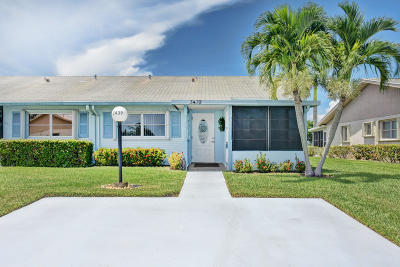 West Palm Beach Single Family Home For Sale: 3439 Theo Way