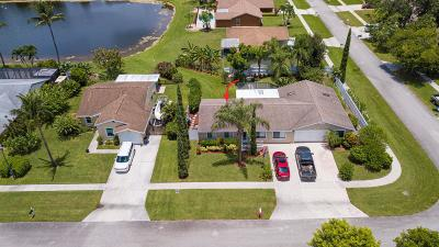 Boynton Beach Single Family Home For Sale: 5047 Little Beth Drive S