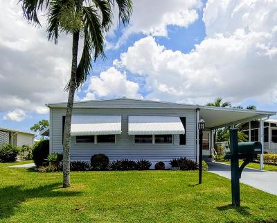 Boynton Beach FL Mobile Home For Sale: $89,900