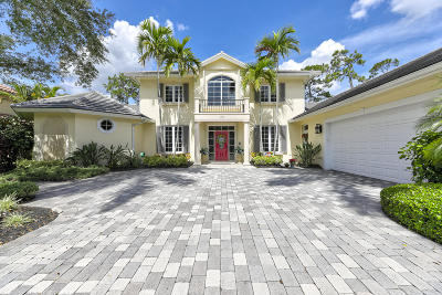 West Palm Beach Single Family Home Contingent: 1202 Breakers West Boulevard W