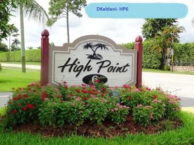 Delray Beach Single Family Home For Sale: 1375 High Point Way SW #D