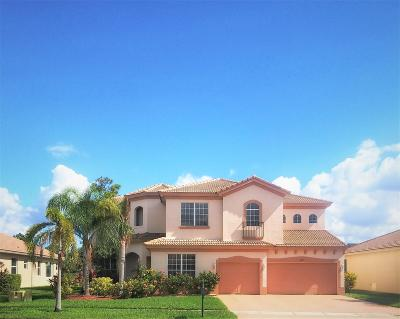 Royal Palm Beach Single Family Home For Sale: 2602 Arbor Lane