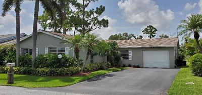 Lake Worth Single Family Home Contingent: 7206 Pine Forest Circle E