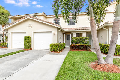 Jupiter Townhouse For Sale: 122 Fox Meadow Run