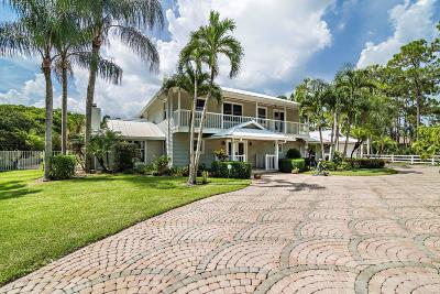 Palm Beach Gardens Single Family Home For Sale: 13395 Running Water Road