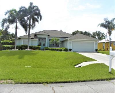 Port Saint Lucie Single Family Home For Sale: 2807 SE Tate Avenue