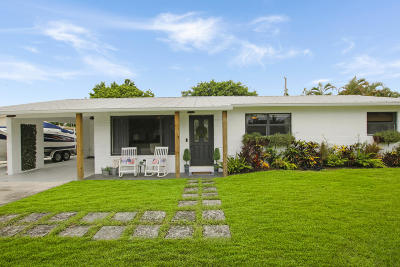 Jupiter Single Family Home For Sale: 1512 Kingsley Road