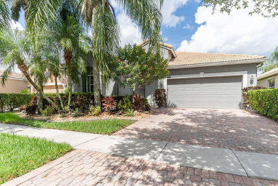 Boynton Beach Single Family Home For Sale: 10306 Copper Lake Drive
