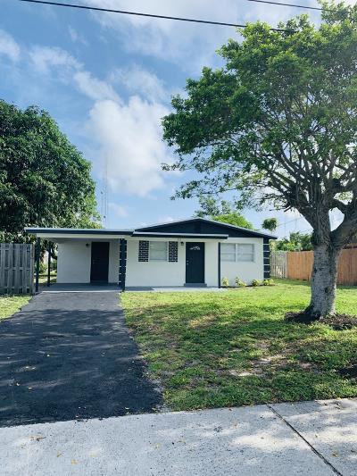 Boynton Beach Single Family Home For Sale: 529 NW 13th Avenue