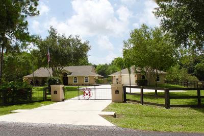 Jupiter Single Family Home For Sale: 12600 189th Court