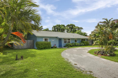 Lake Worth, Lakeworth Single Family Home For Sale: 3545 Patio Court