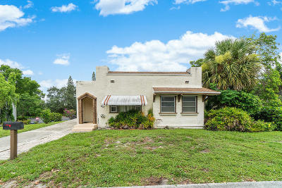 Lake Worth Single Family Home For Sale: 827 A Street