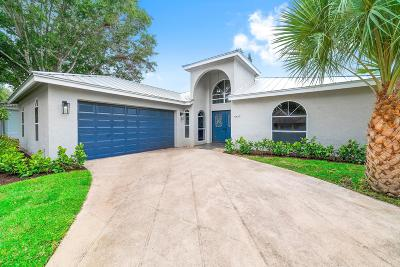 Jupiter Single Family Home For Sale: 6459 Longleaf Pine Drive