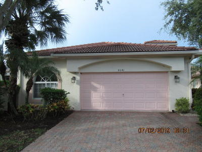 Boynton Beach, Gulf Stream Single Family Home For Auction: 8041 Pisa Drive