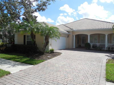 Hobe Sound Single Family Home For Sale: 4097 SE Maryhill Place