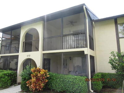 Palm Beach County Condo For Auction: 410 Pine Glen Lane #B-2