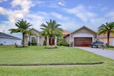 Port Saint Lucie Single Family Home For Sale: 866 SW McCracken Avenue