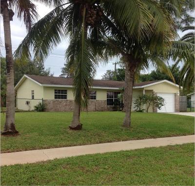 Lake Worth Single Family Home For Sale: 3132 Pinehurst Drive
