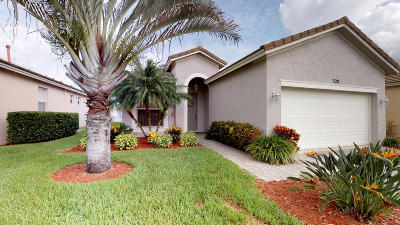 Port Saint Lucie Single Family Home For Sale: 320 SW Coconut Key Way