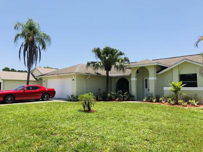 Port Saint Lucie Single Family Home For Sale: 2480 SE Toledo Avenue