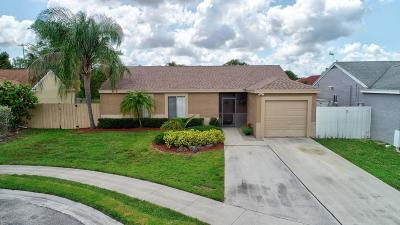 Boca Raton FL Single Family Home For Sale: $285,000