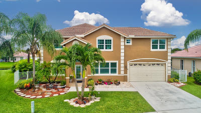 Lake Worth Single Family Home For Sale: 6212 Floridian Circle