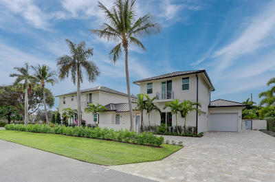 Boynton Beach, Gulf Stream Single Family Home For Sale: 217 Gulfstream Boulevard