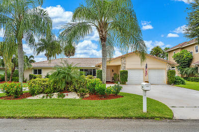 Boynton Beach Single Family Home For Sale: 4822 Palo Verde Drive