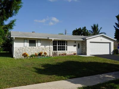 West Palm Beach Single Family Home For Sale: 119 Gale Place