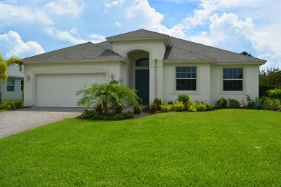 Vero Beach Single Family Home For Sale: 8317 Paladin Square