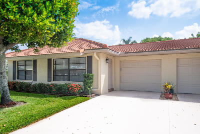 Boynton Beach Single Family Home For Sale: 4465 Pandanus Tree Road #A