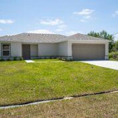 Port Saint Lucie Single Family Home For Sale: 749 NE Eastlake Street