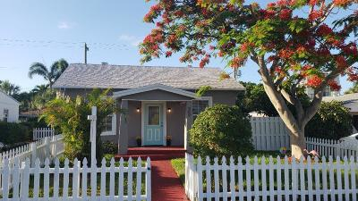 West Palm Beach Rental For Rent: 509 50th Street